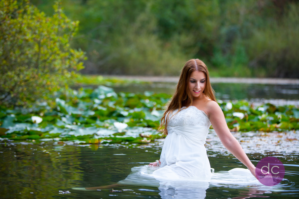 Trash the Dress im See