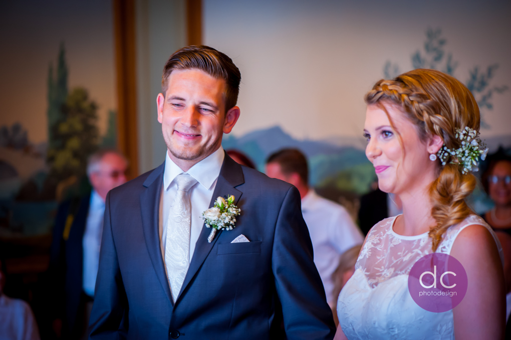 Hochzeitsfotografie Standesamt Schloss Philippsruhe - Hochzeitsfotograf Hanau dc - photodesign