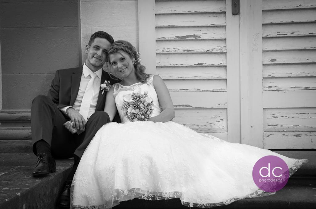 Hochzeitsfotografie am Teehaus im Schloss Philippsruhe - Hochzeitsfotograf Hanau dc - photodesign