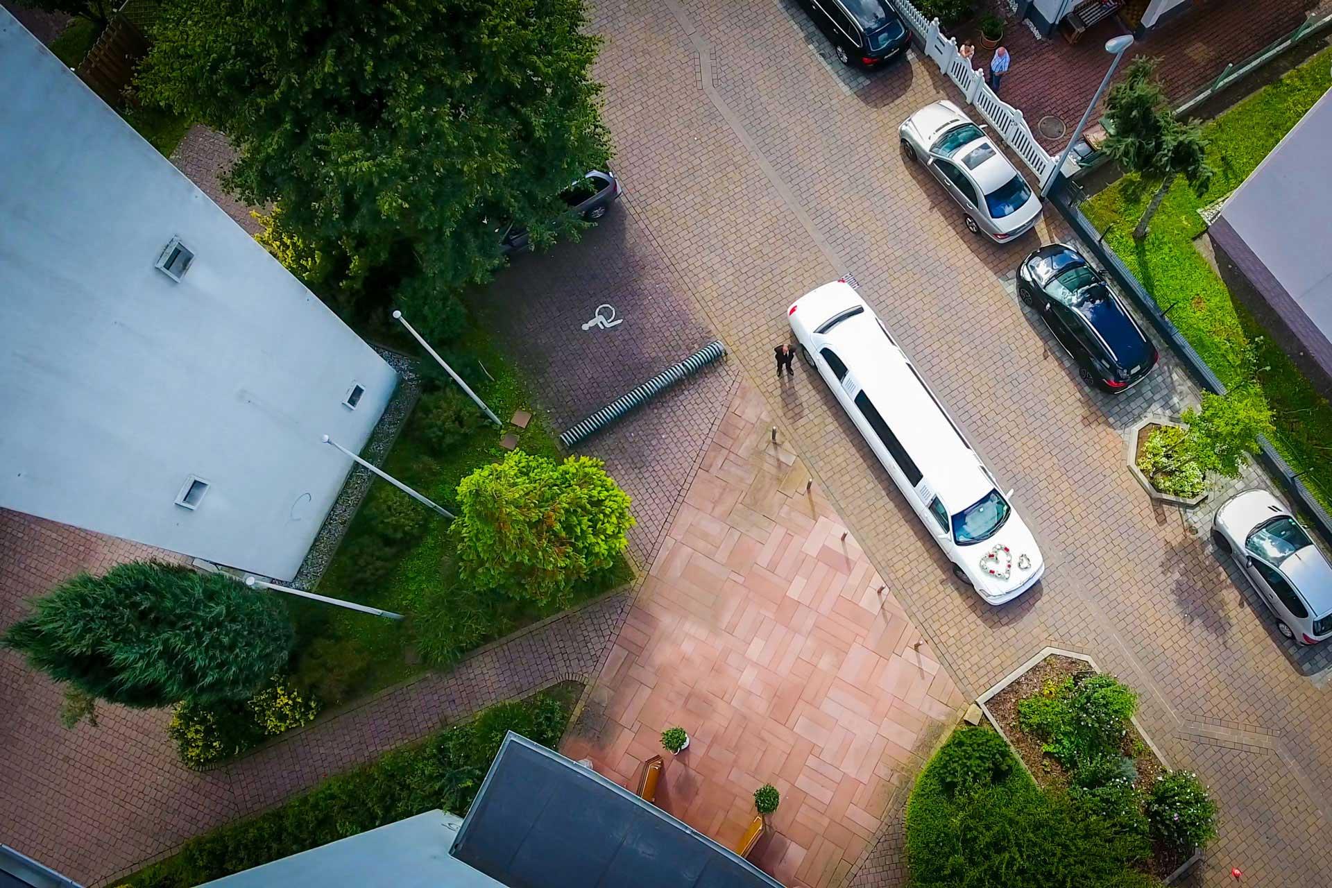 Hochzeitsfotograf Hanau Drohnenflug