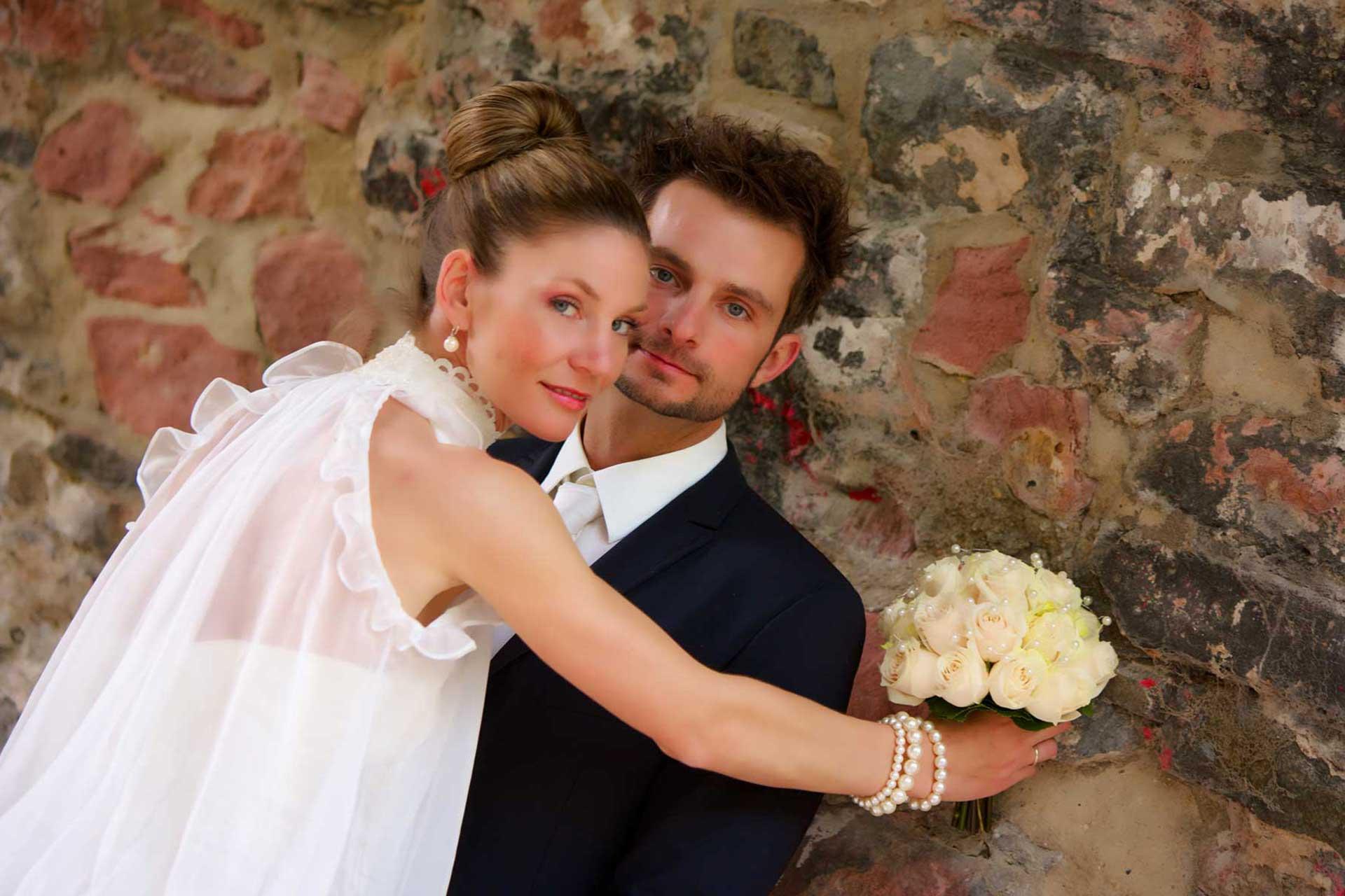 Hochzeitsfotografie in Frankfurt Höchst - Hochzeitsfotograf Hanau